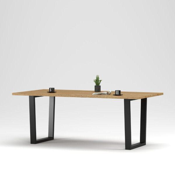 Прямоугольный деревянный стол